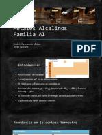Metales Alcalinos