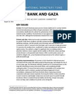 2016West Bank & Gaza IMF RR