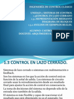 1.3 Sistema de Control de Lazo Cerradoa