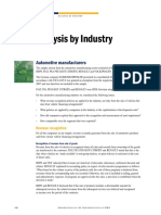 Industry Automotive IFRS Analysis