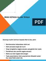 IMAN KEPADA ALLAH TA'ALA (agama 1).pptx