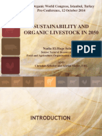 Sustainability and Organic Livestock in 2050