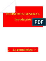 Economia General Introduccion