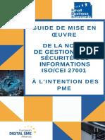 Guide PME pour la mise en place de l'ISO/IEC 27001