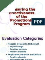 Chap.19.Measuring Effectiveness of Prom. Prog.