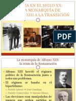 España en el siglo XX