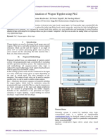 Modernization of Wagon Tippler using PLC