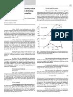 A Novel Extraction Procedure for Psilocbin and Psilocin Determination in Mushroom Samples