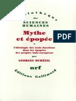 DUMEZIL, Georges. Mythe-Et-Epopee-1-Gallimard-1986.pdf