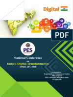 PESU- Digital India Conference Brochure