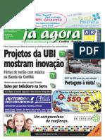 Já Agora, o jornal gratuito da Covilhã e Fundão, nº 80