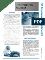 Manufacturing Factsheet PIP3