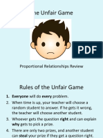 The Unfair Game