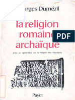 Georges Dumezil - La religion romaine archaique, avec un appendice sur la religion des Etrusques (Bibliotheque historique) (1974).pdf