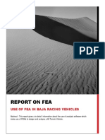 Report on FEA