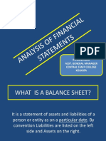 Presentation - Balance Sheet