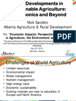 2015Visions 8 New Developments in Sustainable Agriculture Nick Savidov