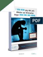 eBook 7 Dosa Besar Personal Mastery