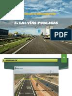 2.- Las Vias Publicas