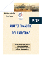 Fritsch Analyse Financiere Entreprise