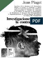 PIAGET, Jean, Investigaciones Sobre La Contradicción