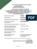 IIT Mandi RFP for Campus