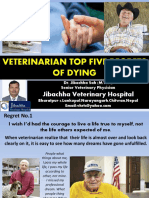 Veterinarian Top Five Regrets of Dying-Dr.Jibachha Sah