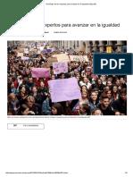 Decálogo de Los Expertos Para Avanzar en La Igualdad _ España