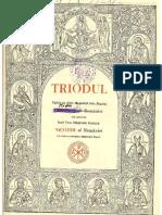 Triodul Edtia Din 1946