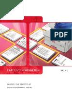 Nashuatec Fax Machine 3320L