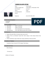CV Bahasa Indonesia