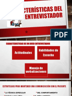 2. Caracteristicas Del Entrevistador