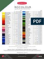Derwent ProColour Color Set