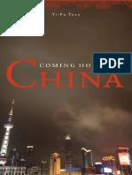 [Yi-Fu Tuan] Coming Home to China
