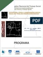 Xi Congreso de Trabajo Social y Primera Conferencia Latinoamericana de Bienestar Social y Trabajo Social