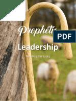 Prophetic Leadership