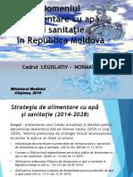 Legislative Framework Water Supply and Sanitation in Moldova