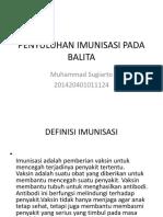 Penyuluhan Imunisasi Pada Balita
