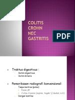 Colitis, Crohn, NEC, Gastritis