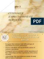 Customer Expectations of Services