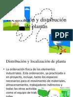 1.- Localizacion y Distribucion de Plantas Industriales