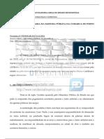 PGE reitera irregularidades no caso da ponte de Ji-Paraná
