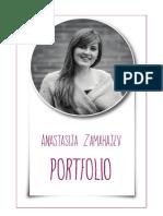 Portfolio Anastasija Zamahajev