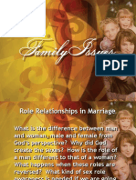 Role Relationships in Marriage