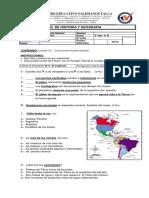 Evaluación  H,GY CS  2° unidad  3° básico .