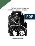 Livreto Resgatando 1935 - O Antifascismo Nas Páginas de a Plebe e a Lanterna