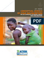 Conceptual Models of Child Malnutrition the ACF Approach in Mental Health and Care Practices 01.2013
