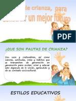 PPT Metodos de Crianza