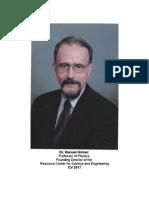 Manuel Gómez, Ph.D. Curriculum Vitae