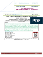 NOVEL APROACHES ON BUCCAL MUCOADHESIVE DRUG DELIVERY SYSTEM